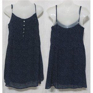 Abercrombie & Fitch dress Large polka dot lined